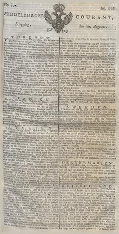 Middelburgsche Courant 1776-08-20