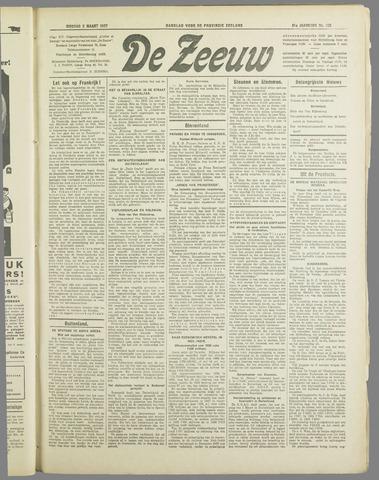 De Zeeuw. Christelijk-historisch nieuwsblad voor Zeeland 1937-03-02
