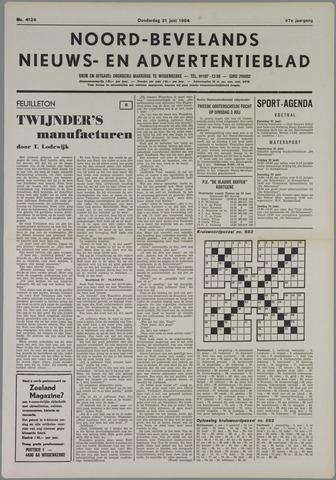 Noord-Bevelands Nieuws- en advertentieblad 1984-06-21