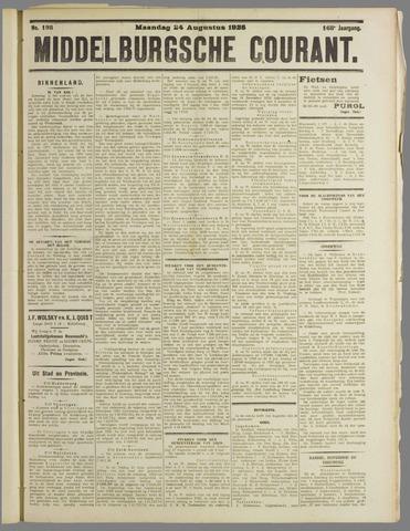 Middelburgsche Courant 1925-08-24