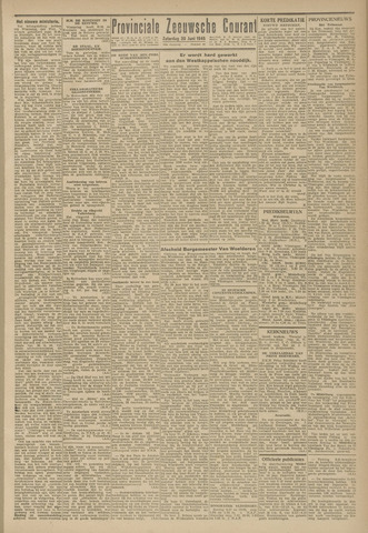 Provinciale Zeeuwse Courant 1945-06-30