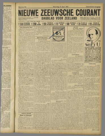 Nieuwe Zeeuwsche Courant 1921-04-18