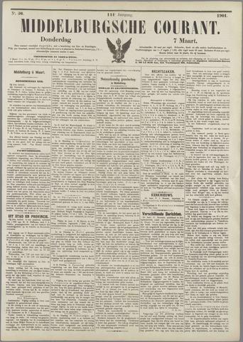 Middelburgsche Courant 1901-03-07