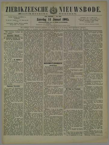 Zierikzeesche Nieuwsbode 1905-01-14