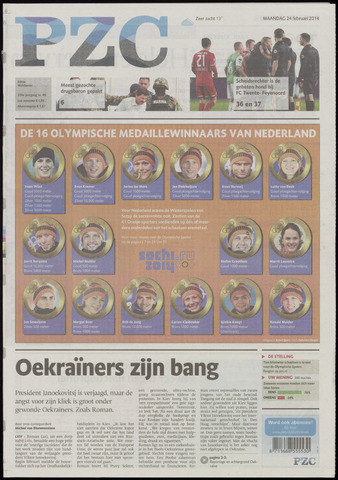 Provinciale Zeeuwse Courant 2014-02-24