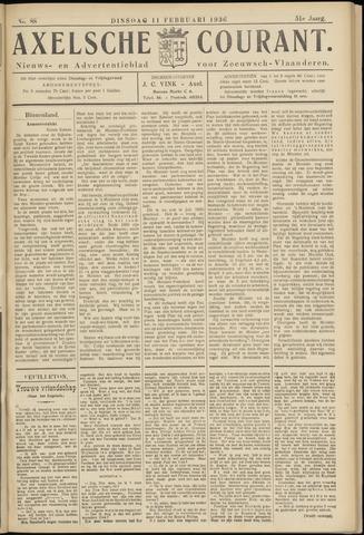Axelsche Courant 1936-02-11