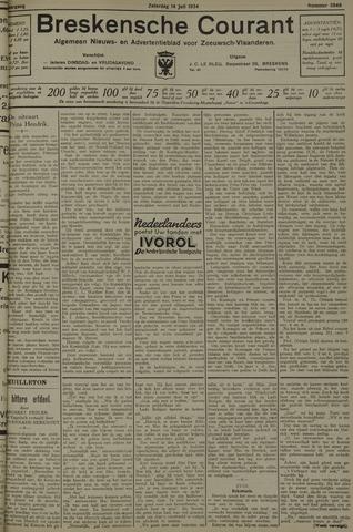 Breskensche Courant 1934-07-14