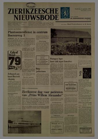 Zierikzeesche Nieuwsbode 1975-09-04