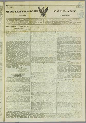 Middelburgsche Courant 1846-09-15