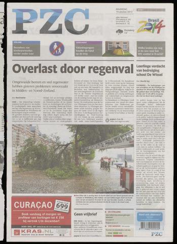 Provinciale Zeeuwse Courant 2013-10-14