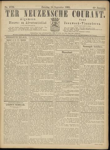 Ter Neuzensche Courant. Algemeen Nieuws- en Advertentieblad voor Zeeuwsch-Vlaanderen / Neuzensche Courant ... (idem) / (Algemeen) nieuws en advertentieblad voor Zeeuwsch-Vlaanderen 1901-09-14