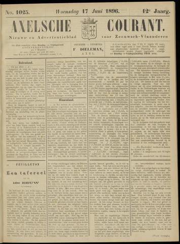 Axelsche Courant 1896-06-17