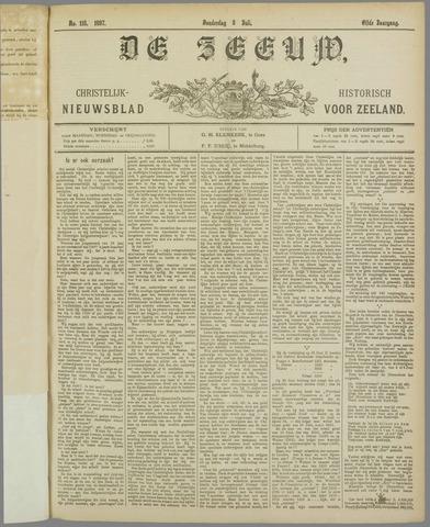De Zeeuw. Christelijk-historisch nieuwsblad voor Zeeland 1897-07-08