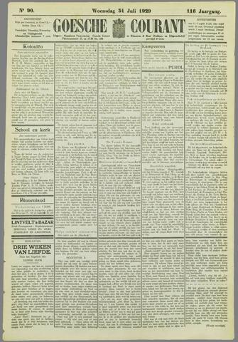 Goessche Courant 1929-07-31