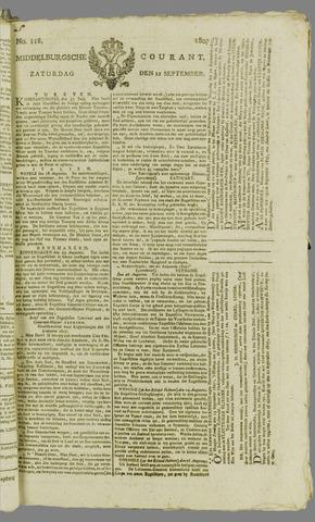 Middelburgsche Courant 1807-09-12