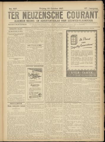 Ter Neuzensche Courant. Algemeen Nieuws- en Advertentieblad voor Zeeuwsch-Vlaanderen / Neuzensche Courant ... (idem) / (Algemeen) nieuws en advertentieblad voor Zeeuwsch-Vlaanderen 1927-10-28