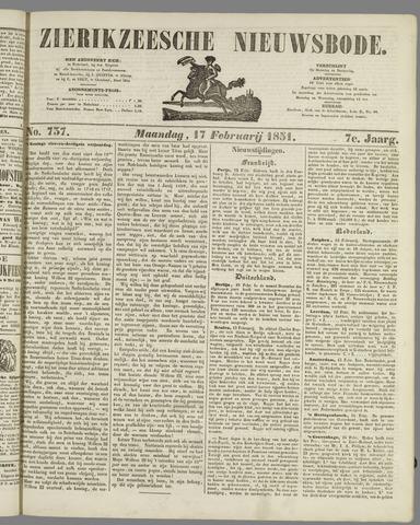 Zierikzeesche Nieuwsbode 1851-02-17