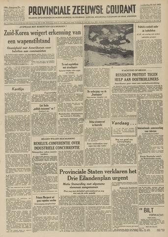 Provinciale Zeeuwse Courant 1953-07-23