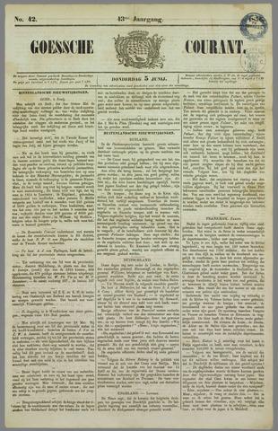 Goessche Courant 1856-06-05