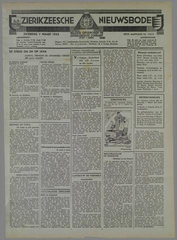 Zierikzeesche Nieuwsbode 1942-03-07