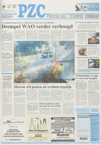 Provinciale Zeeuwse Courant 2002-03-09