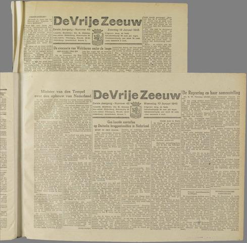 de Vrije Zeeuw 1945-01-10
