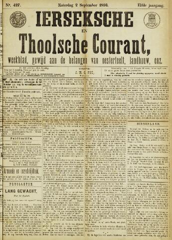 Ierseksche en Thoolsche Courant 1893-09-02