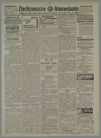 Zierikzeesche Nieuwsbode 1933-11-24
