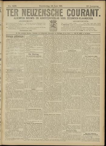 Ter Neuzensche Courant. Algemeen Nieuws- en Advertentieblad voor Zeeuwsch-Vlaanderen / Neuzensche Courant ... (idem) / (Algemeen) nieuws en advertentieblad voor Zeeuwsch-Vlaanderen 1915-06-24