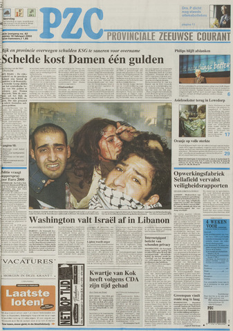 Provinciale Zeeuwse Courant 2000-02-18