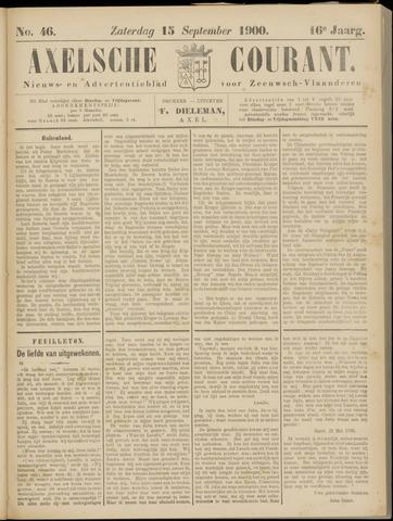 Axelsche Courant 1900-09-15