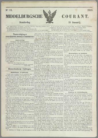 Middelburgsche Courant 1855-01-25