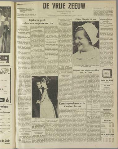 de Vrije Zeeuw 1962-01-17
