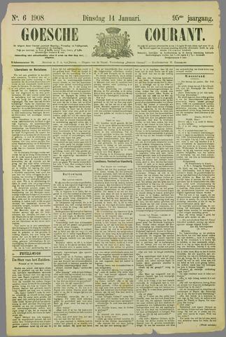 Goessche Courant 1908-01-14