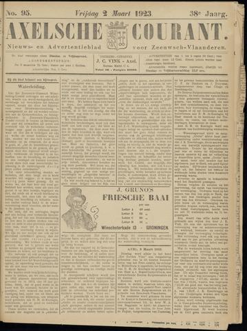 Axelsche Courant 1923-03-02