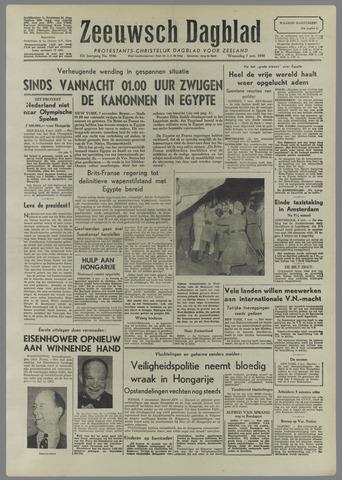 Zeeuwsch Dagblad 1956-11-07