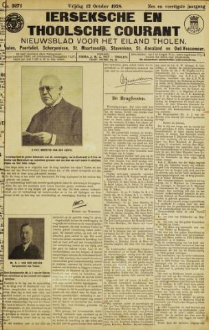Ierseksche en Thoolsche Courant 1928-10-12