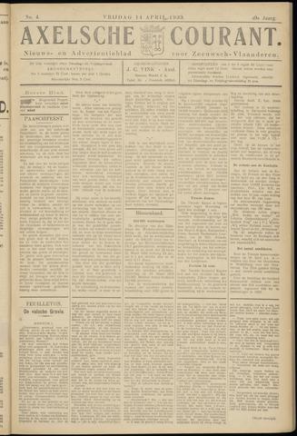 Axelsche Courant 1933-04-14
