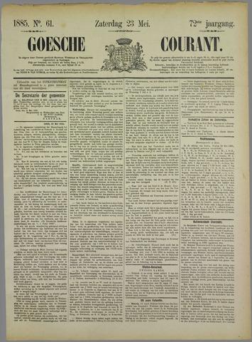 Goessche Courant 1885-05-23