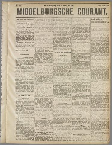 Middelburgsche Courant 1922-03-23