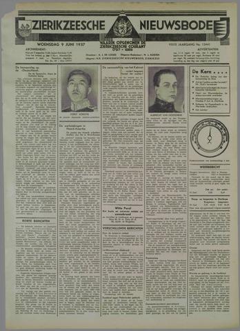 Zierikzeesche Nieuwsbode 1937-06-09