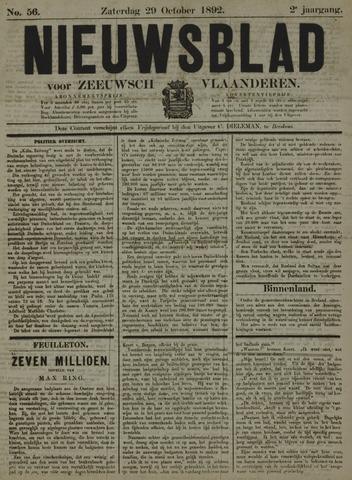 Nieuwsblad voor Zeeuwsch-Vlaanderen 1892-10-29