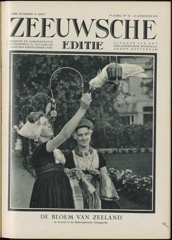 Ons Zeeland / Zeeuwsche editie 1931-08-21