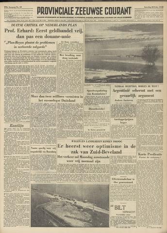 Provinciale Zeeuwse Courant 1953-02-28