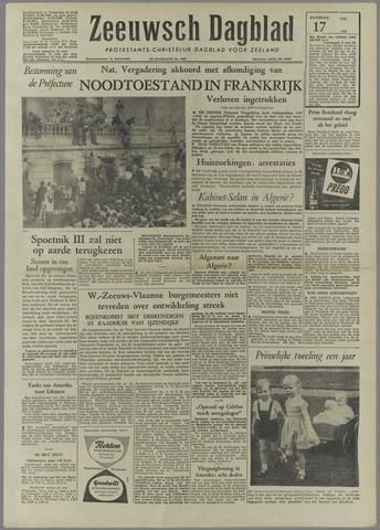 Zeeuwsch Dagblad 1958-05-17