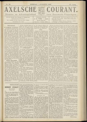 Axelsche Courant 1939-08-01