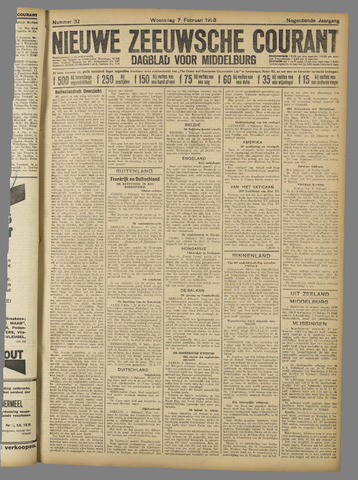Nieuwe Zeeuwsche Courant 1923-02-07