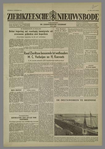 Zierikzeesche Nieuwsbode 1958-09-04