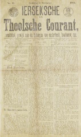 Ierseksche en Thoolsche Courant 1885-12-05