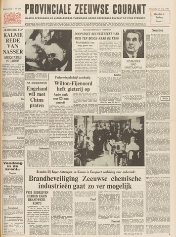 Provinciale Zeeuwse Courant 1967-08-31